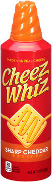 Cheez Whiz Sharp Cheddar Cheese Snack 8 oz. Spray Can