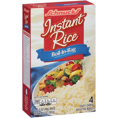 Schnucks® Boil-in-Bag Instant Rice 4-3.5 oz. Bags