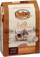 Nutro® Lite Weight Loss Adult Chicken, Whole Brown Rice & Oatmeal Recipe Dog Food 30 lb. Bag