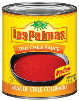 Las Palmas Medium Red Chile Sauce 102 Oz Can