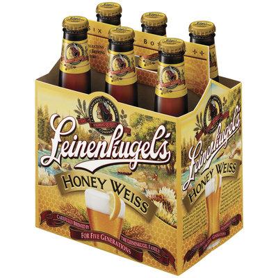 Leinenkugel's Honey Weiss 12 Oz Bier 6 Pk Glass Bottles