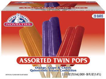 Polar Treats Twin Pops Ice Pop 20 Pk