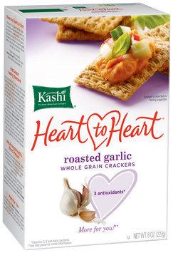 Kashi® Heart To Heart Roasted Garlic Whole Grain Crackers