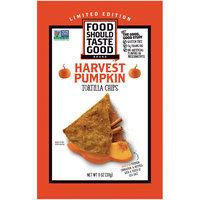 Food Should Taste Good Pumpkin Harvest Tortilla Chips
