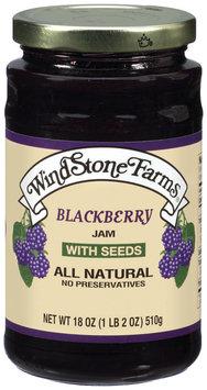 Windstone Farms Blackberry W/Seeds Jam 18 Oz Jar