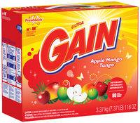 Gain® Ultra Apple Mango Tango with FreshLock Powder Laundry Detergent 118 oz. Box