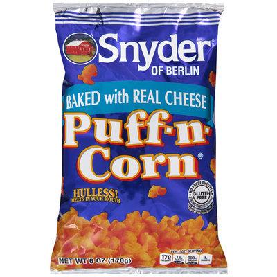 Snyder of Berlin® Cheese Puff-n-Corn® 6 oz. Bag