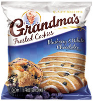 Grandma's® Blueberry & White Chocolate Frosted Cookie 1.8 oz. Bag