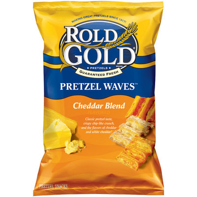Rold Gold® Waves Cheddar Blend Pretzel Snacks