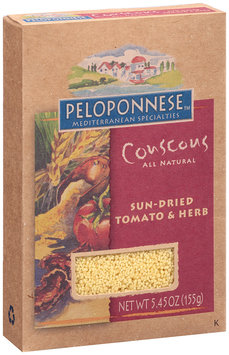 Peloponnese™ Mediterranean Specialities Couscous Sun-Dried Tomato & Herb