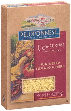 Peloponnese™ Mediterranean Specialities Couscous Sun-Dried Tomato & Herb 5.45 oz. Box