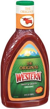 Western Original Salad Dressing 24 Oz Plastic Bottle