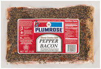 Plumrose Hearty Country Style Bacon Pepper 3 Lb