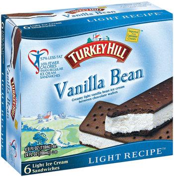 Turkey Hill® Vanilla Bean Light Recipe Ice Cream Sandwiches 24 fl. oz. Box