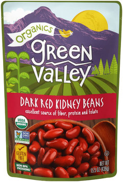 Green Valley® Organics Dark Red Kidney Beans 15.5 oz. Pouch