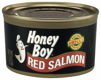 Honey Boy  Red Salmon 7.5 Oz Can