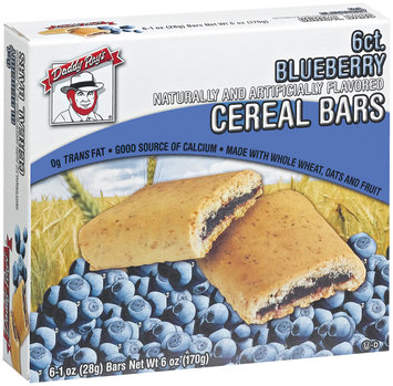 Daddy Ray's Blueberry Cereal Bars 6 Ct Box