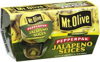 Mt. Olive Jalapeno Slices 3.7 Fl Oz Pepper Pak 4 Ct Plastic Cups