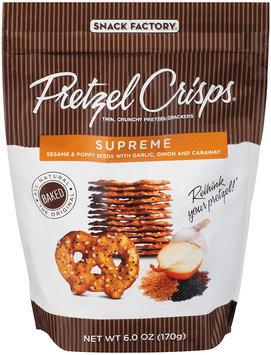 Pretzel Crisps® Crackers Supreme