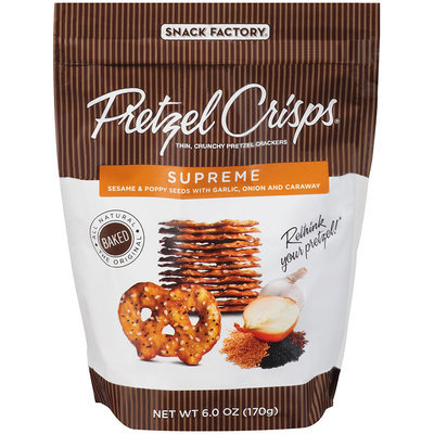 Pretzel Crisps® Crackers Supreme