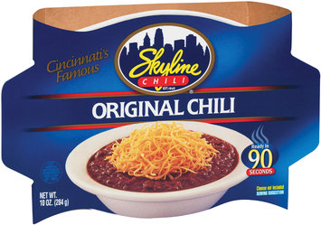 Skyline Chili Original Chili 10 Oz Sleeve