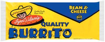 Lynn Wilson's Bean & Cheese Burrito