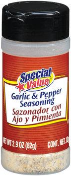 Special Value Garlic & Pepper Seasoning 2.9 Oz Shaker