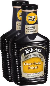 Mr. Yoshida's® Ginger Garlic Teriyaki Marinade & Cooking Sauce 2-44.5 oz. Bottles