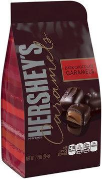 Hershey's® Dark Chocolate Caramels Candy 7.2 oz. Bag