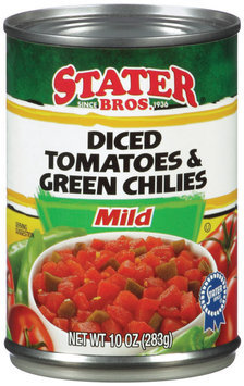 Stater Bros.® Mild Diced Tomatoes & Green Chiles 10 oz Can