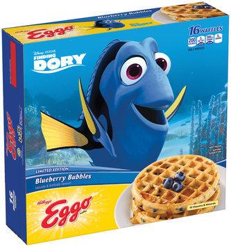 Kellog's® Eggo® Limited Edition Blueberry Bubbles Waffles 19.7 oz. Box