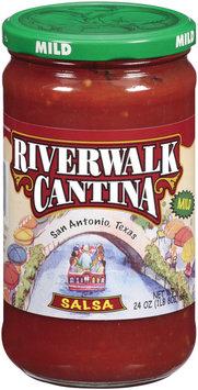 River Walk Cantina Mild Salsa 24 Oz Jar