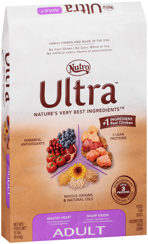 Nutro® Ultra™ Adult Dog Food 15 lb. Bag