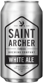 Saint Archer Brewing Company White Ale Beer 12 fl. oz. Can