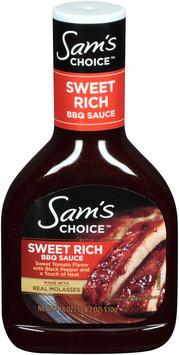Sam's Choice™ Sweet Rich BBQ Sauce 8 oz. Bottle