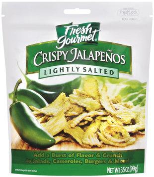 Fresh Gourmet Lightly Salted Crispy Jalapenos 3.5 Oz Peg