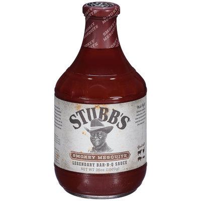 Stubb's® Smokey Mesquite Legendary Bar-B-Q Sauce 36 oz. Bottle