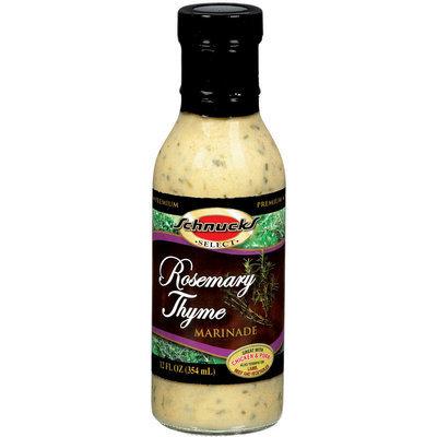 Schnucks Premium Rosemary Thyme Marinade 12 Fl Oz Glass Bottle