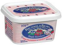 Brummel & Brown Creamy Simply Strawberry Fruit Spread 8 Oz Plastic Tub