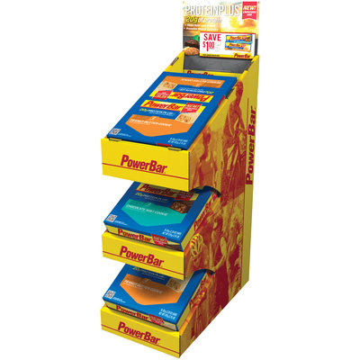 Powerbar Protein Plus Counter Top Display