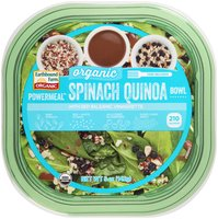 Earthbound Farm® Powermeal™ Organic Spinach Quinoa Bowl with Red Balsamic Vinaigrette 5 oz. Container