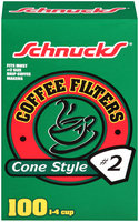 Schnucks® Coffee Filters Cone Style