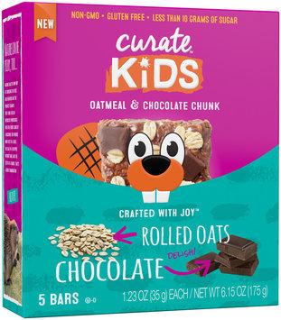 Curate™ Kids Oatmeal & Chocolate Chunk Snack Bar 5-1.23 oz. Packs