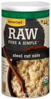 BetterOats® Raw Pure & Simple® Steel Cut Oats 30 oz. Box
