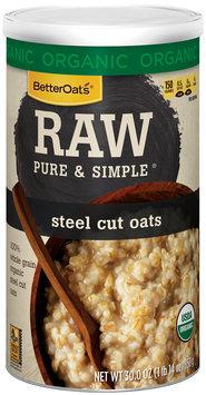 BetterOats® Raw Pure & Simple® Steel Cut Oats
