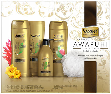 Suave® Professionals Natural Infusion Awapuhi Collection Gift Set 5 ct Box