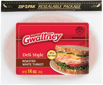 Gwaltney® Deli Style Roasted White Turkey 14 oz. ZIP-PAK®