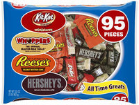 Hershey's Halloween All Time Greats Candy Assortment, 95 count