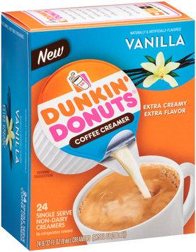 Dunkin' Donuts® Vanilla Coffee Creamer 24 ct Box