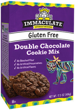 Immaculate™ Gluten Free Double Chocolate Cookie Mix 17.5 oz. Box